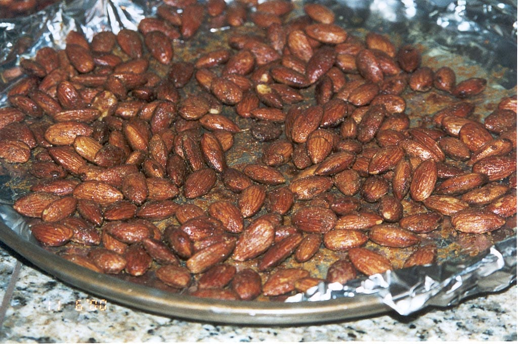 Jalapeno smoked almonds