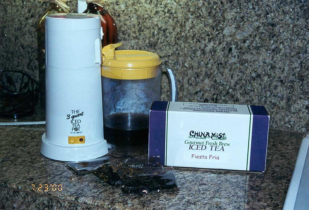China Mist Iced Tea loose leaf bags