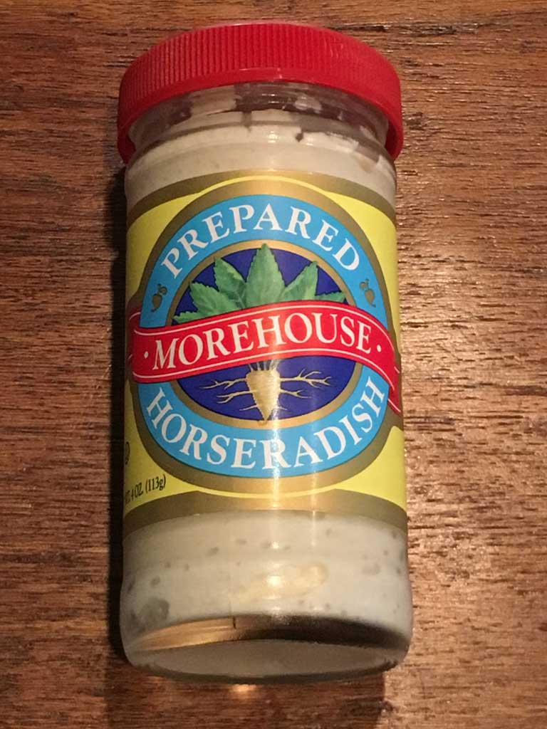 Prepared Horseradish in a jar