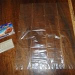 Reynolds Oven Bags For Turkey with yard stick