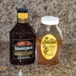 KC Masterpiece Original sauce and sourwood honey