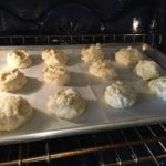 Secret Ingredient biscuits go into the oven