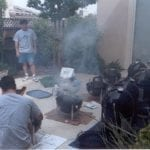 Firing up the cookers