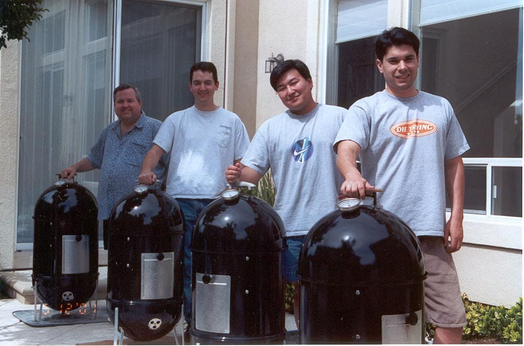 The four WSM pitmasters