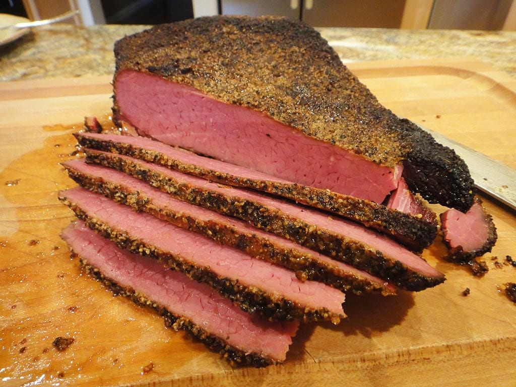 Interior view of quick pastrami