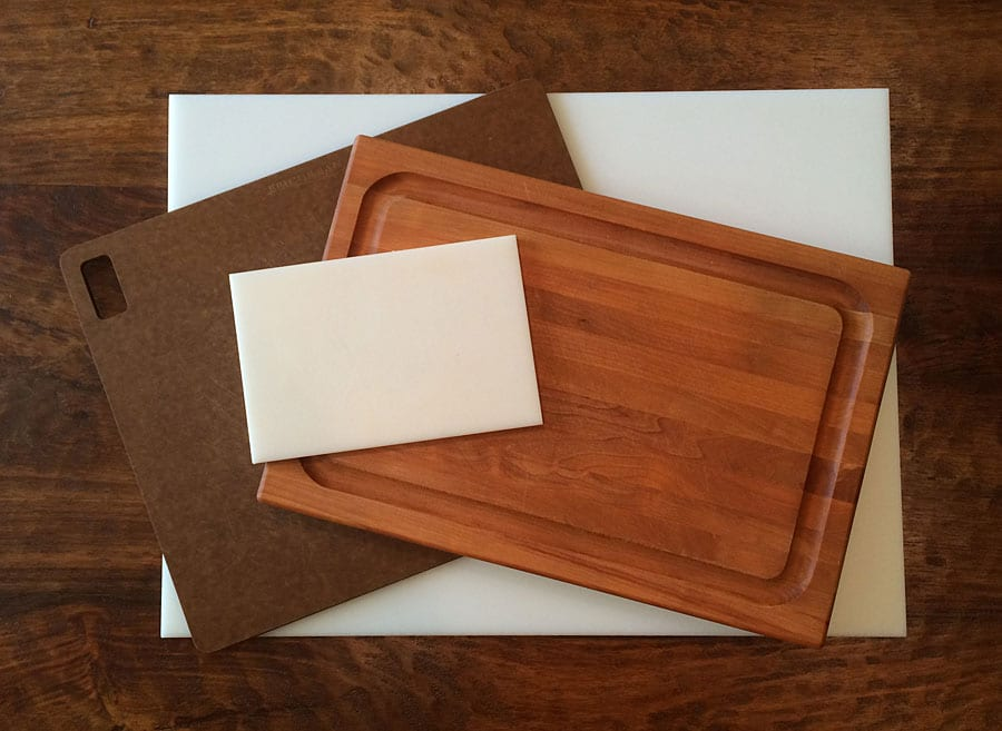 My collection of cutting boards for barbecue