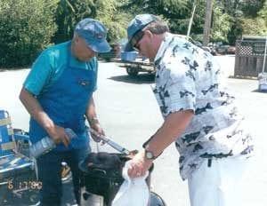 Bill Forsythe and Ray Hoegger