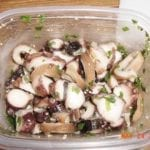 Tako with onions and seasonings