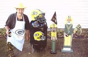 "Kevin Taylor and ""Packer Weber"""