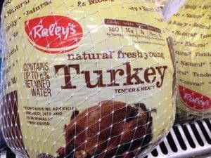 Another example of regular turkey
