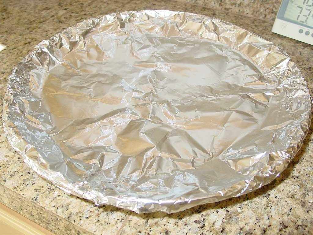 Foiled water pan
