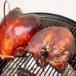 Turkey at the end of cooking