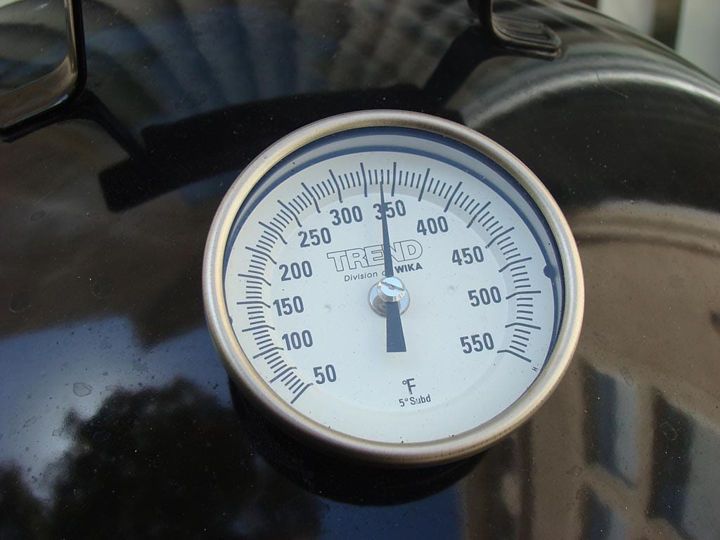 WSM thermometer reading