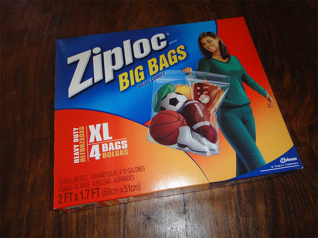 Ziploc Big Bags XL box