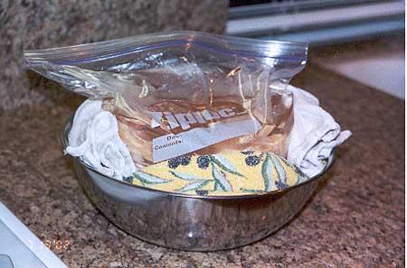 Chicken in Ziploc bag