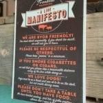 The Franklin Barbecue Line Manifesto