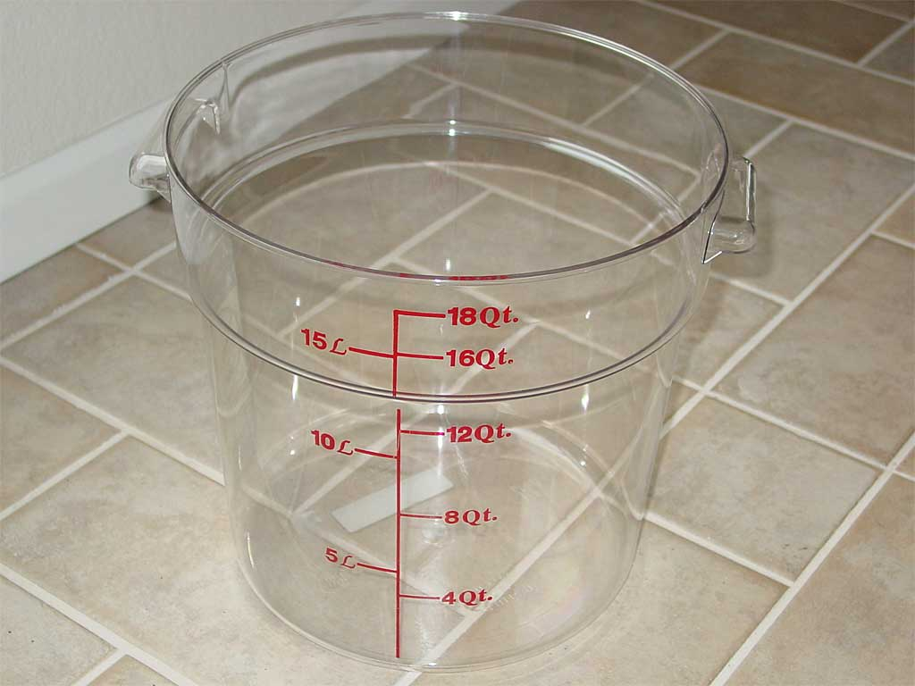 Food Grade Plastic Containers For Brining The Virtual