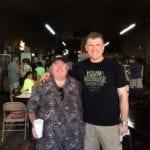 Photo of Chris Allingham with Wayne Mueller