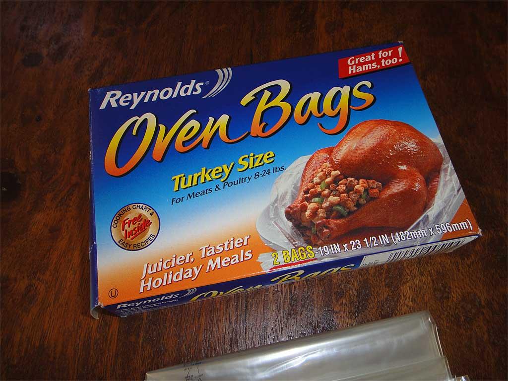 Reynolds Oven Bag For Turkey box