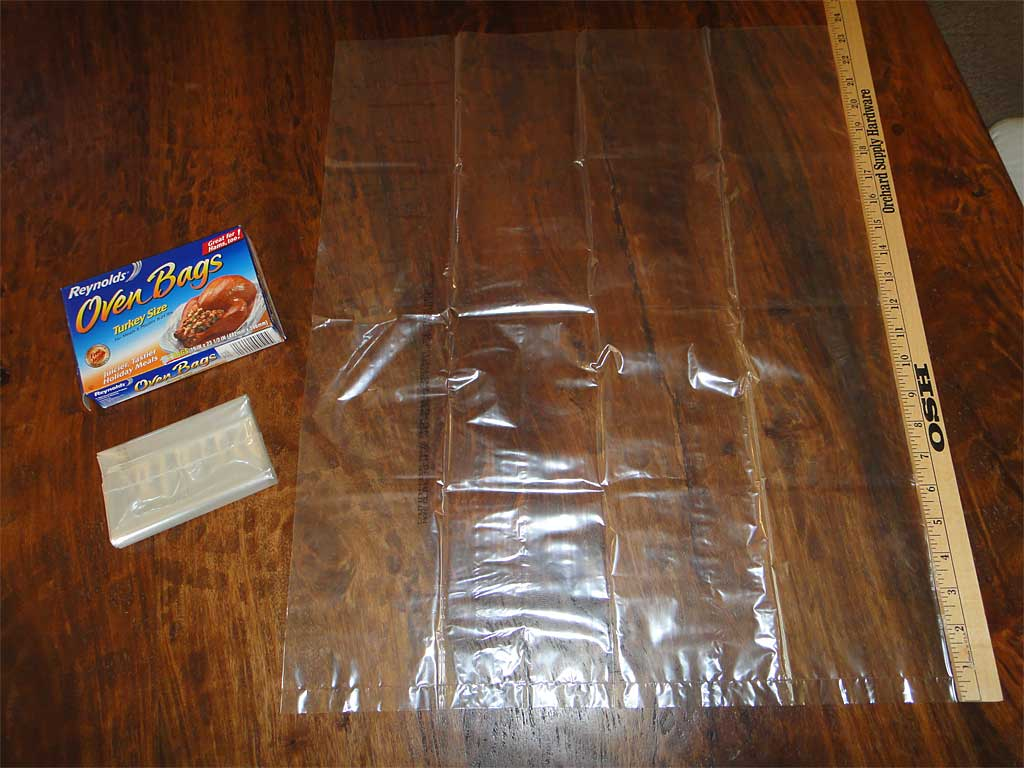 Reynolds Oven Bag For Turkey with yard stick