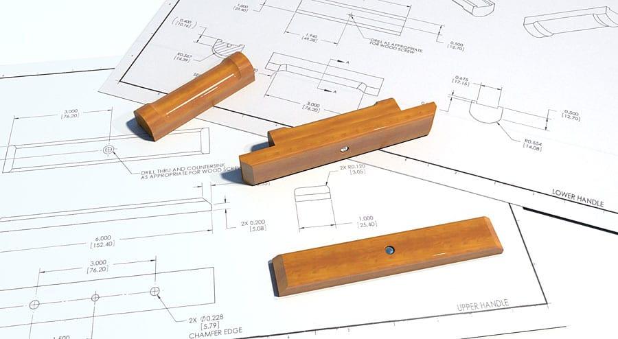 Wooden WSM handles