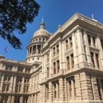 Another view of the Texas State Capitol