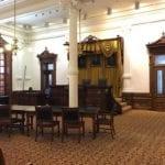 The original Texas Supreme Court Room