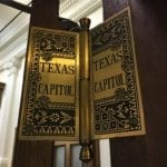 Texas State Capitol hinge