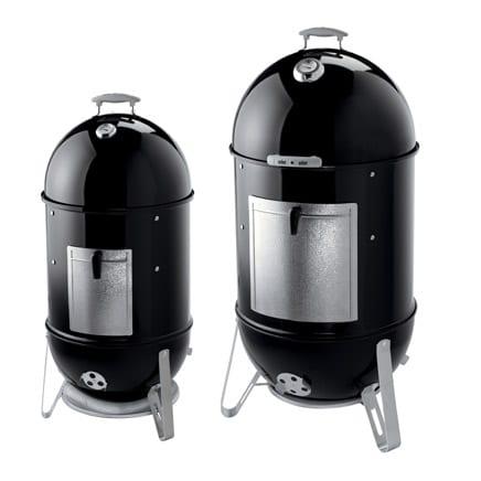 "Weber Model 721001 18-1/2"" & Model 731001 22-1/2"" Smokey Mountain Cookers"