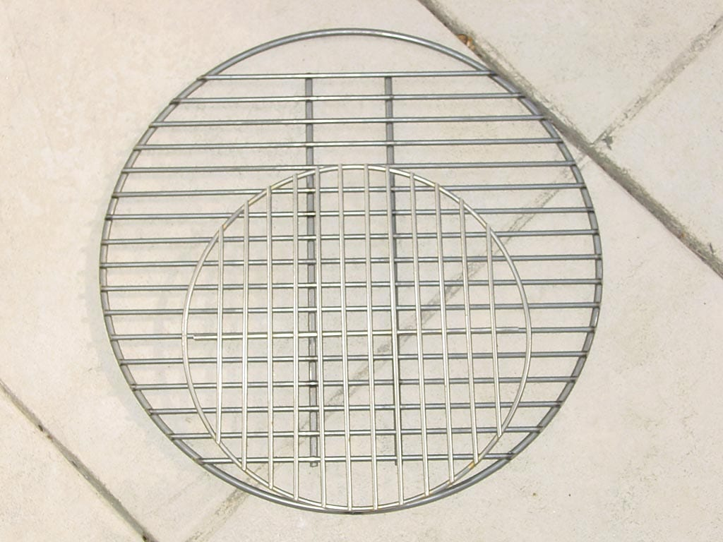 Charcoal grates compared