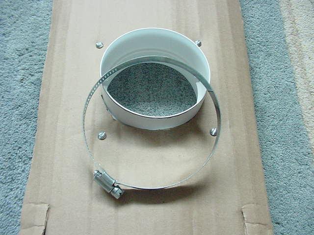 Mounting draft blocker to cardboard door