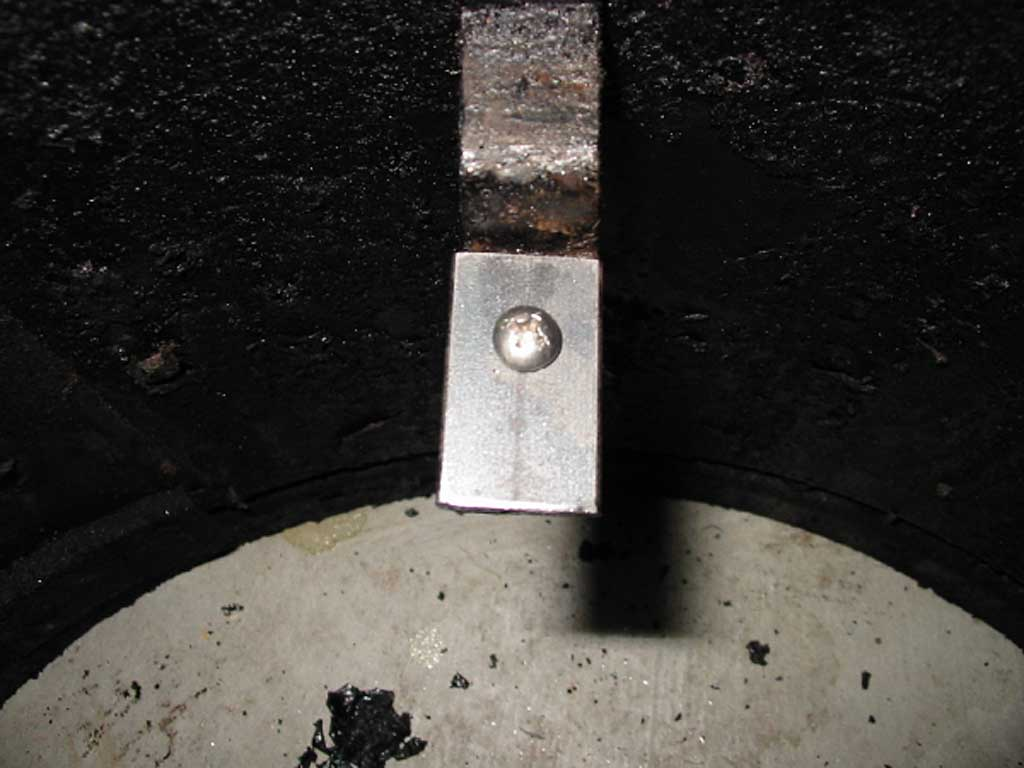 Extended water pan flange