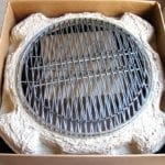 Charcoal grate and cooking grates