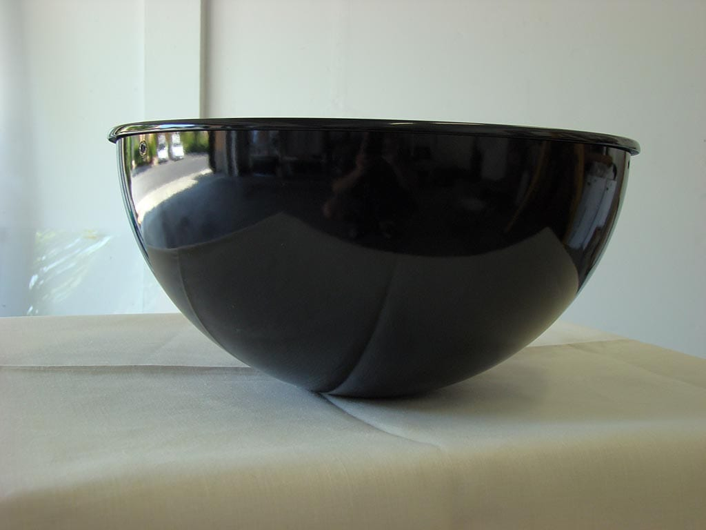 Side view of water pan