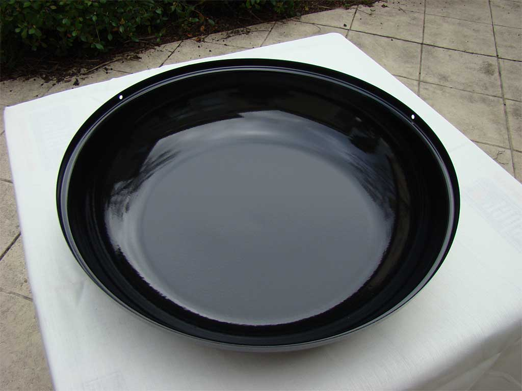 Interior view of water pan