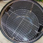 Top cooking grate