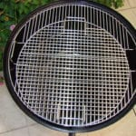 Overhead of nested top cooking grates