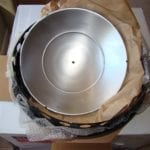Heat shield unwrapped