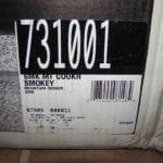 """22.5"""" model number label"""