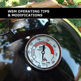 WSM Operating Tips & Modifications