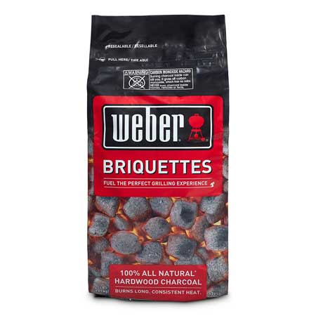 2017 Weber 100% All-Natural Hardwood Charcoal Briquettes