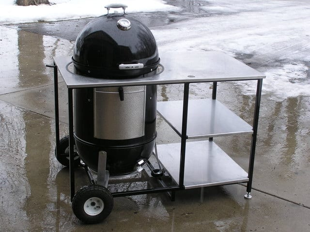 Stainless steel WSM cart
