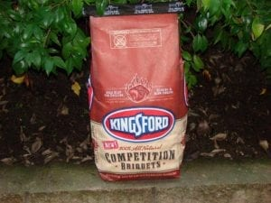 12 pound bag of new Kingsford Competition Briquets