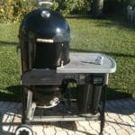 WSM 22.5 in Weber Performer frame
