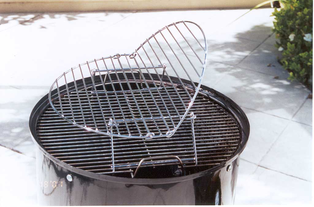 BGE grill extender