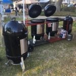 JS Lockwood dual WSM cart in competition