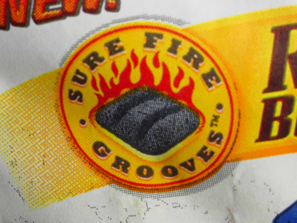 Sure Fire Grooves logo on bag