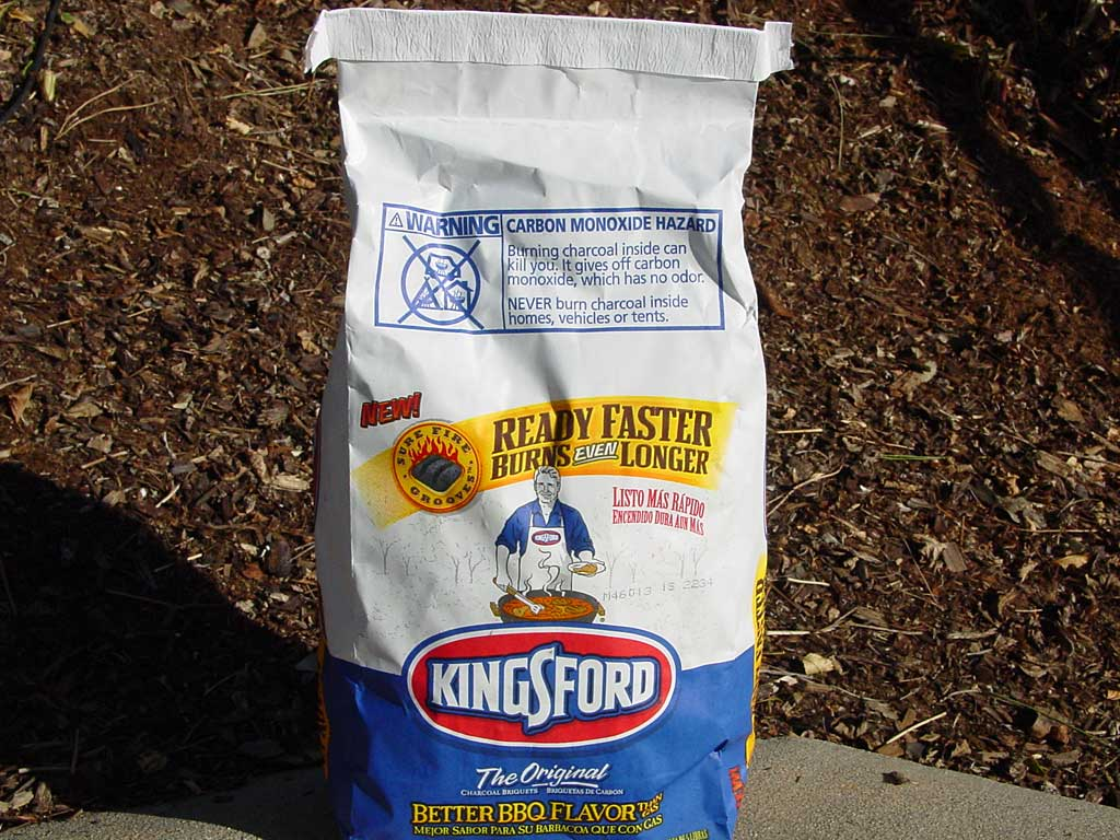 4.5 pound bag of new Kingsford Charcoal Briquets