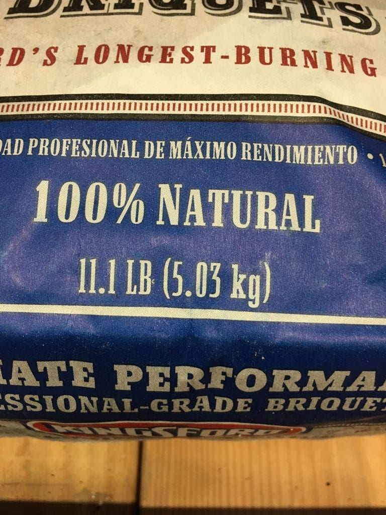 Kingsford Professional - Front of bag closeup