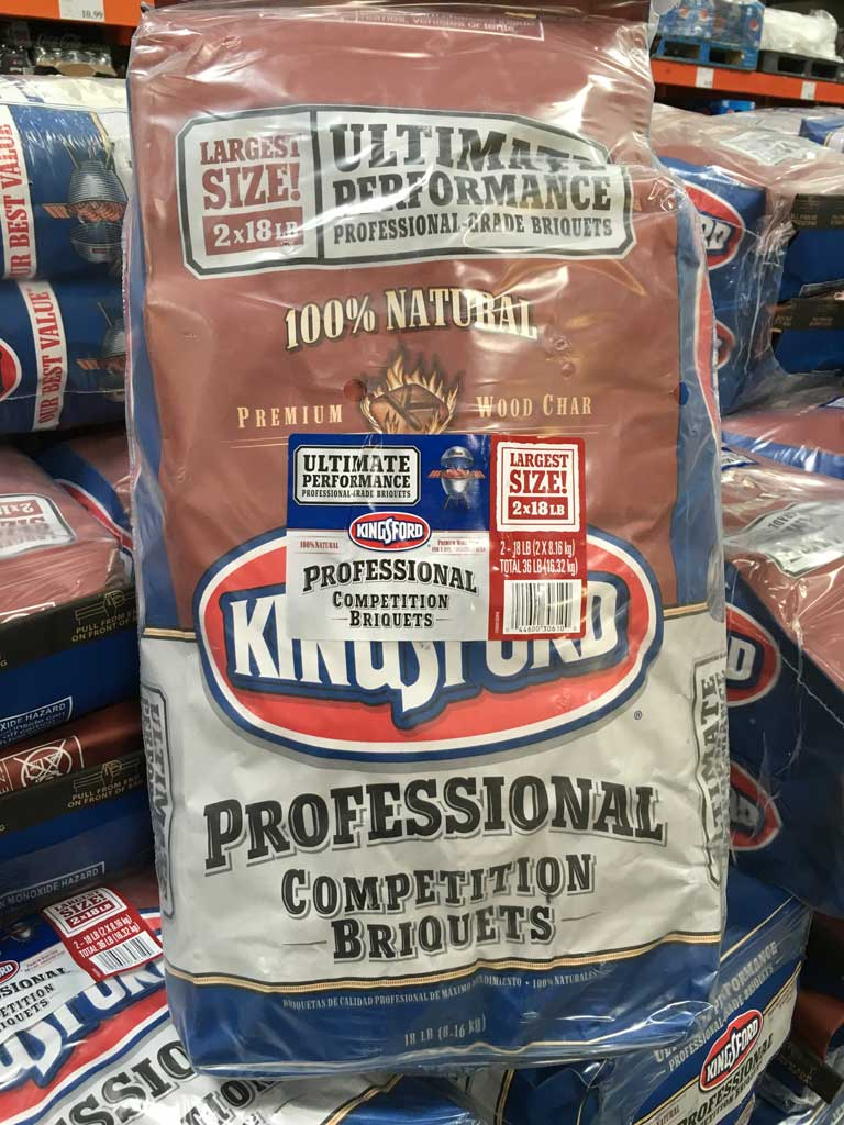 Kingsford Professional at Costco - Front of bag